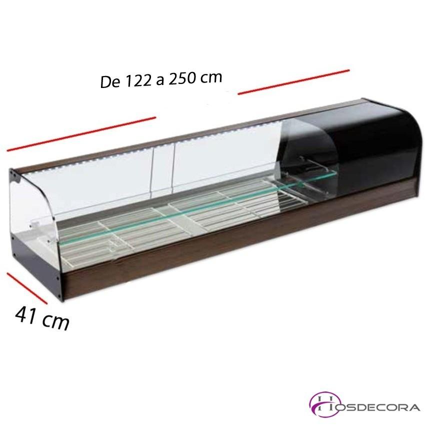 Expositor de Platos Refrigerado VIFRi -Leds