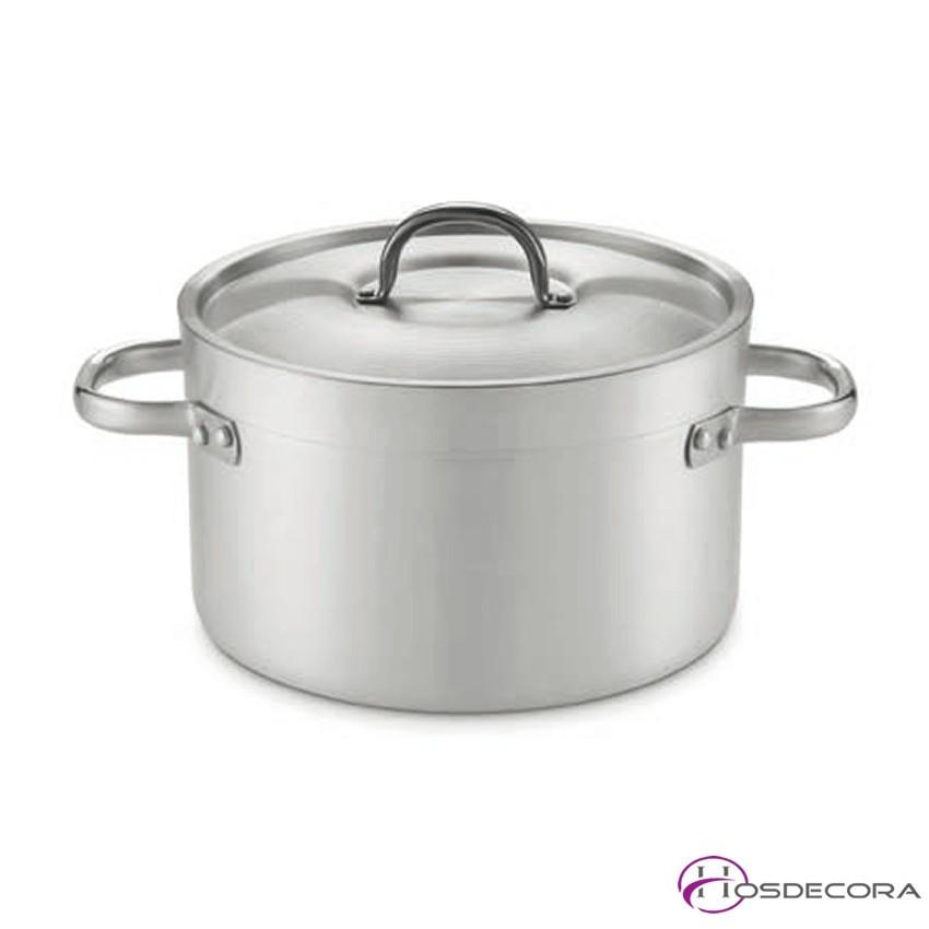 Cacerola alta en aluminio de 31 a 104 litros