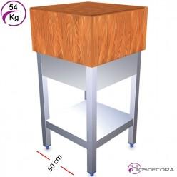 Tajos de maderay fibra con faldón 40 x 40 - 36 kg 06-030702