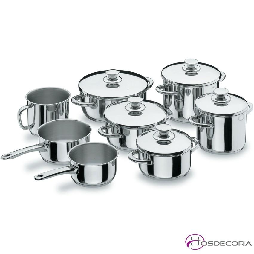 Batería de cocina Vitrocor de 8 piezas