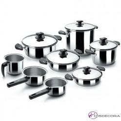 Batería de cocina Nova de 8 piezas