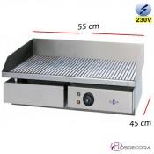 Plancha Electrica Ranurada 550x450 - 8 mm espesor