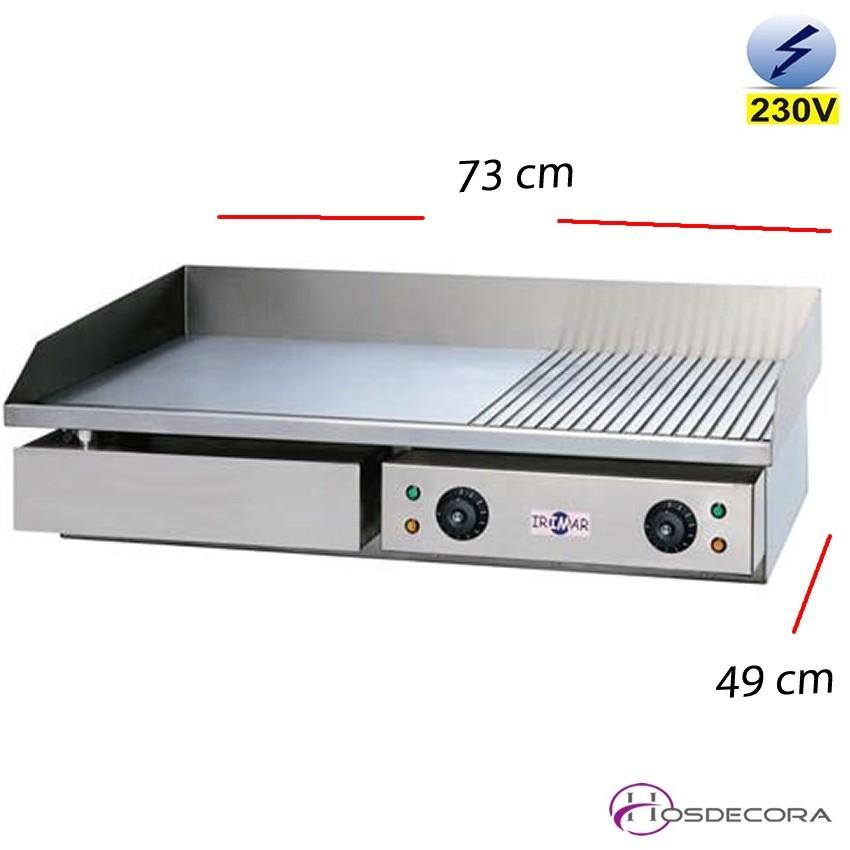 Plancha Ranurada cocina 730x490 - 8 mm espesor