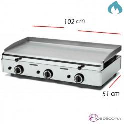 Plancha Profesional a Gas Eco Acero Laminado 1020x510-6mm- FUGGP6.10