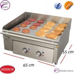 Plancha para cocinas profesionales  65x 55- 8 Kw.