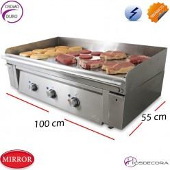 Plancha para cocinas profesionales  100x 55- 12 Kw.