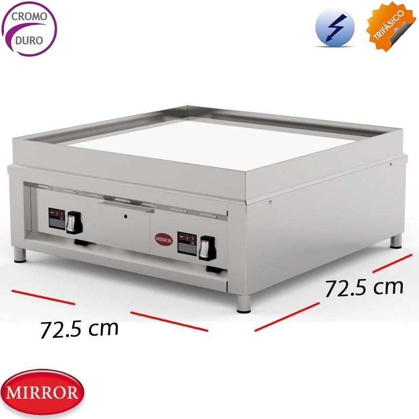 Plancha para cocinas profesionales 72.5x72.5cm- 10 Kw.