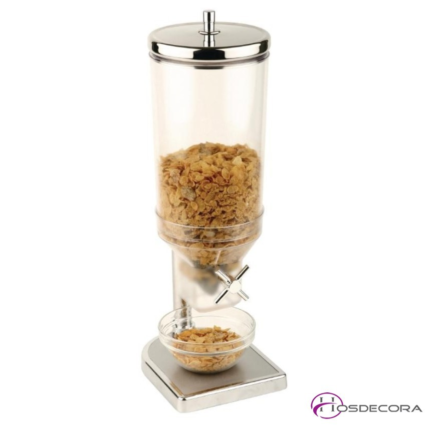 Dispensador cereales 1 cuba 4.5 Litros - Buffet
