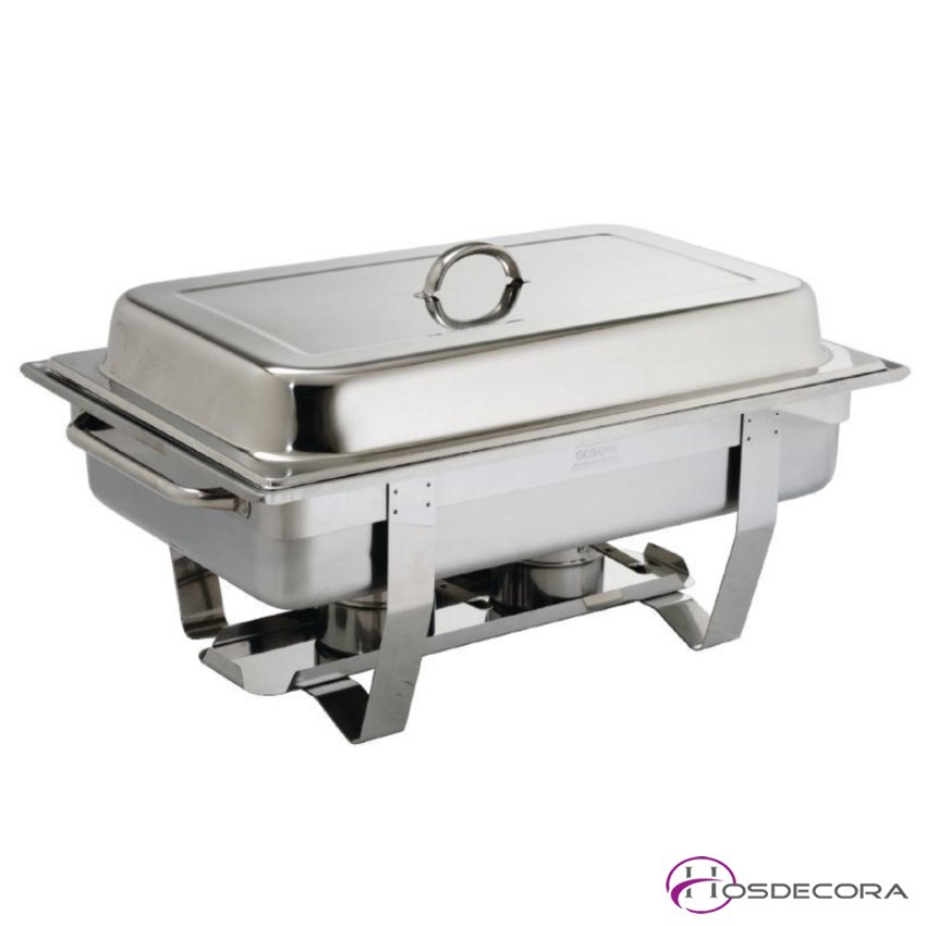 Chafin dish en acero GN 1/1- 9 litros. Combustible.