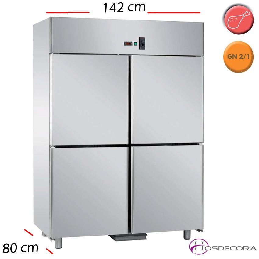 Armario refrigerado de pescado 4 P- 1400 L- 570 W