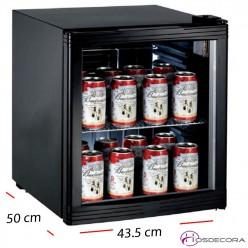 Armario frío para latas 1 P cristal - 160L- 230 W