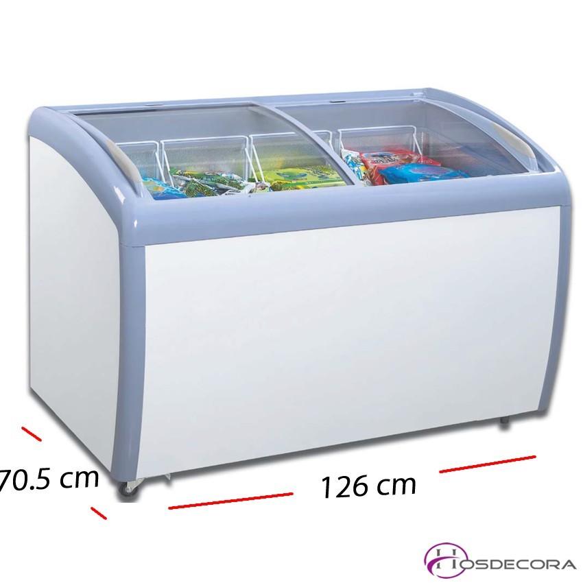Congelador expositor 1 P. cristal - 90 L- 238 W