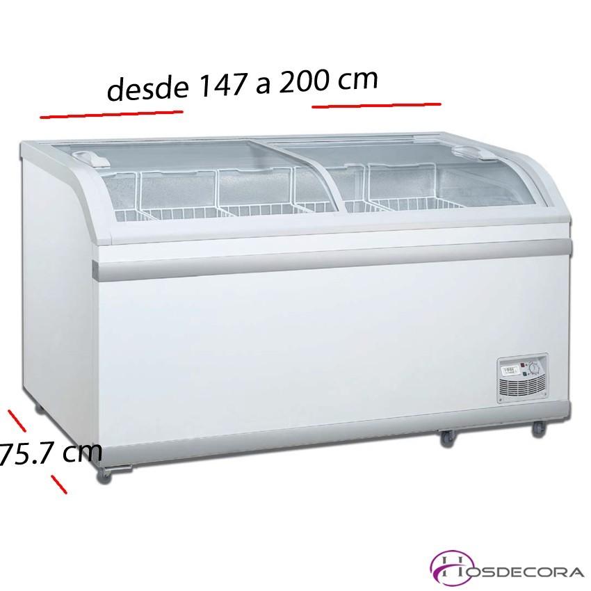 Expositor negativo y positivo P. cristal de 500 a 700 L.