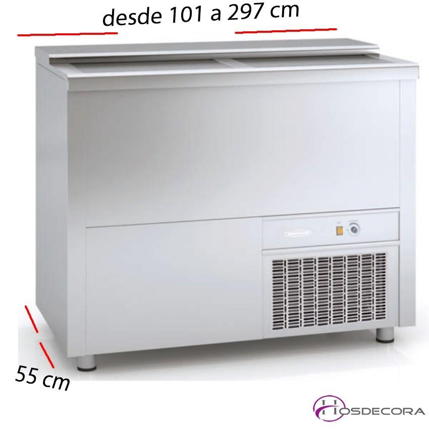 Enfriador Industrial de Bar 1020x540 Plasti-galvanizado