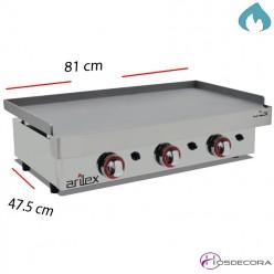 Plancha de Gas Acero Laminado 6mm 610x457