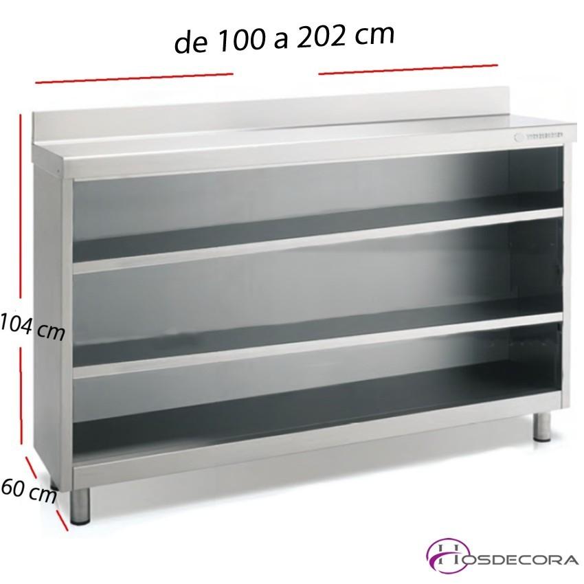 Estantería Trasbarra EFM60-100- 2 Niveles 90x60
