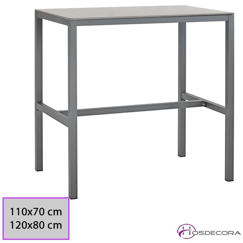 Mesa rectangular para bar ALTA Espartinas