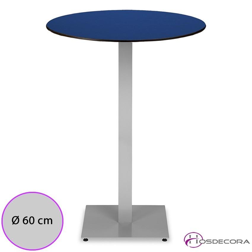 Mesa alta bujalance para bar de tapas tablero redondo for Tablero redondo para mesa