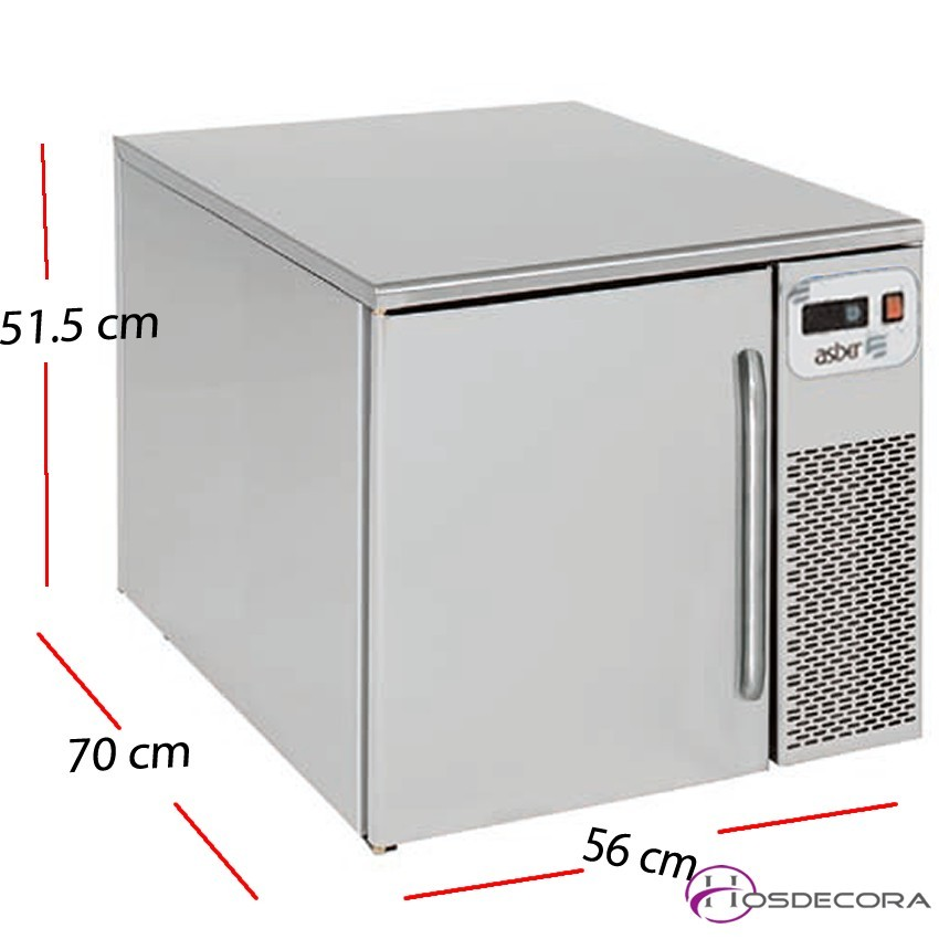 Abatidor de Temperatura 3 x GN 1/1 - 60x40 -35-560509