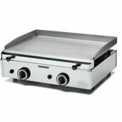 Plancha Hostelería a Gas Acero Inox 620x510-15mm- FUGGP15.6