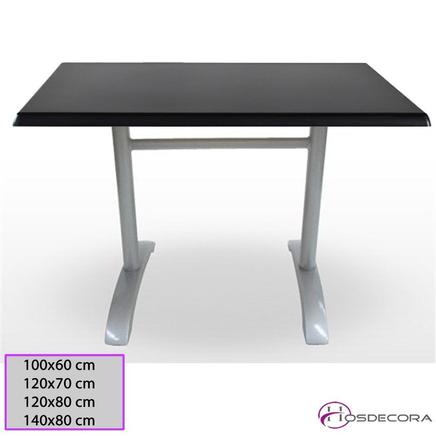 Mesa de bar Coruña Tablero Rectangular Werzalit