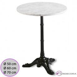 Mesa de marmol redonda MR332 60 cm
