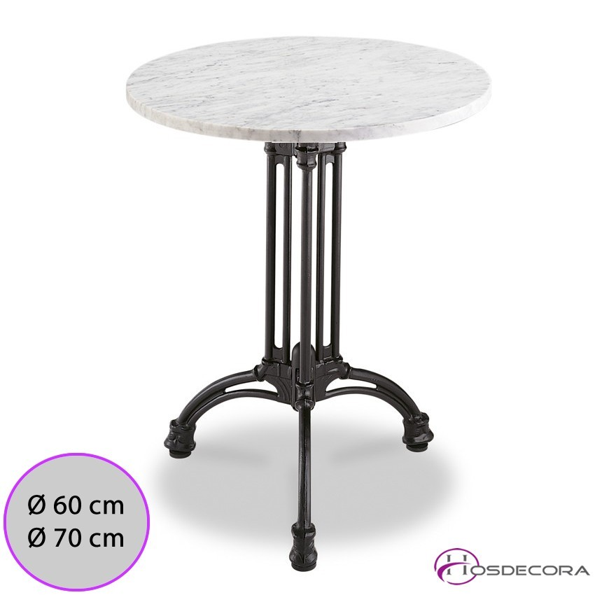 Mesa de marmol redonda MR335 -60 cm