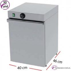Cuece pastas eléctrico con grifo 3 cestas 3.4 W- 30º a 110ºC