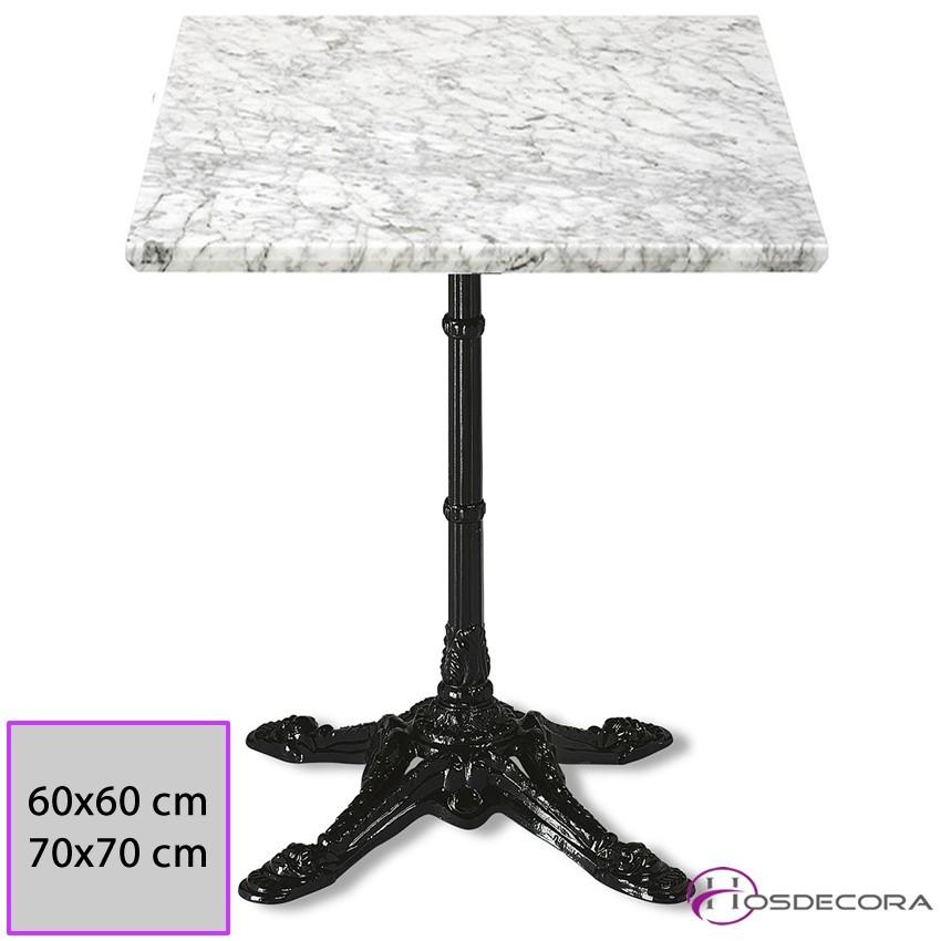 Mesa de marmol redonda MR348 -60 cm