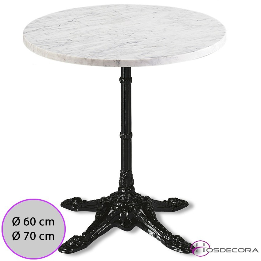 Mesa de marmol redonda MR332 -60 cm