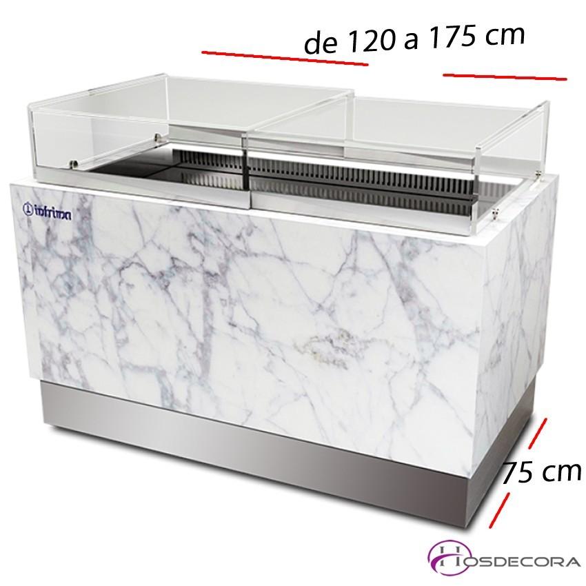 Vitrina mostrador pastelería Reserva- Fondo 75 cm.