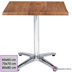 Mesa Cafeteria Cuadrada 60x60 Werzalit - 29-MAX4