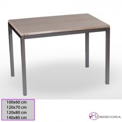 Mesa apilable Asturias Tablero Rectangular Werzalit