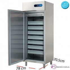 Armario refrigerado departamento de pescado - 600 L- 737 W
