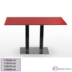 Mesa de bar Coles Tablero rectangular Compacto