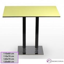 Mesa alta Taboada Tablero rectangular Compacto