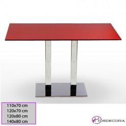Mesa de bar Carbajosada Tablero Rectangular Compacto