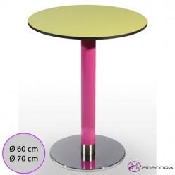 Mesa de bar Carboneras Tablero redondo Compacto