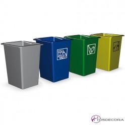 Cubos de basura para cocinas industriales y alimentaci n - Cubos de basura industriales ...