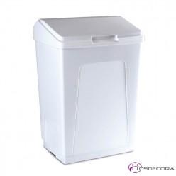 Contenedor de plástico con tapa