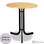 Mesa barata redonda para la hostelería