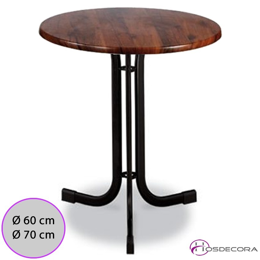 Mesa de bar MR318 -Melamina 60 cm