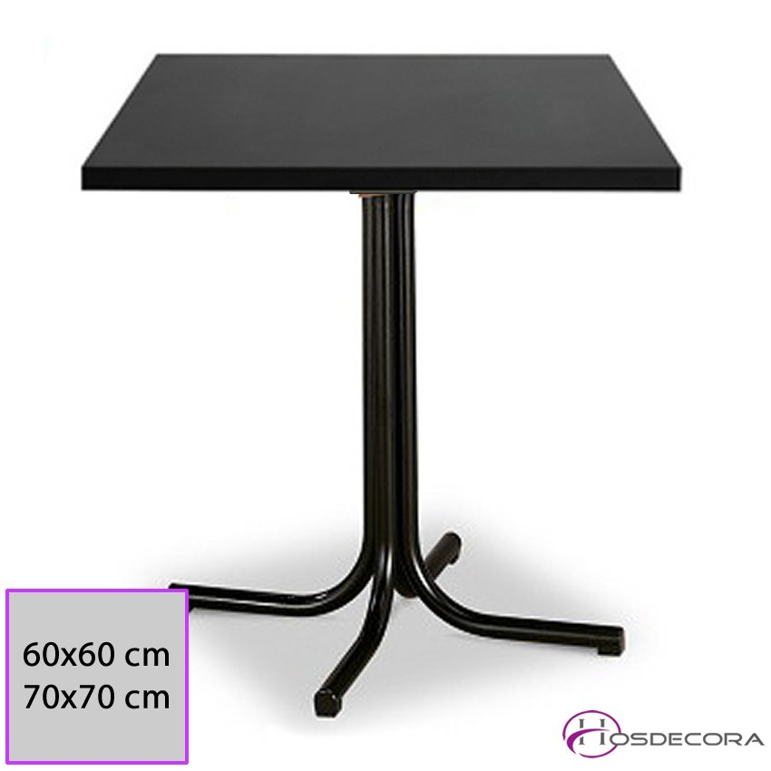 Mesa de bar MR300 -Melamina 60 x 60 cm