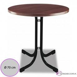 Mesa barata redonda para bar Monteserio