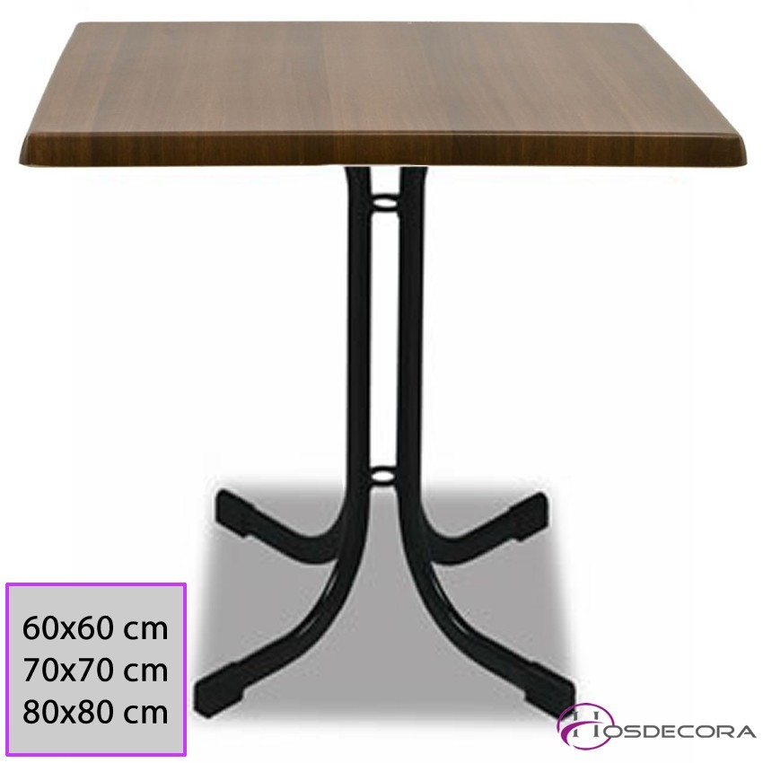 Mesa de bar MR319 -Melamina 60 cm