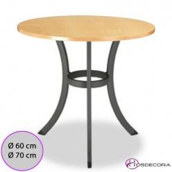 Mesa de bar Tablero 60 cm Melamina - USURBIL