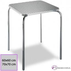Mesa de terraza MR329 Acero inox 60 x 60 cm