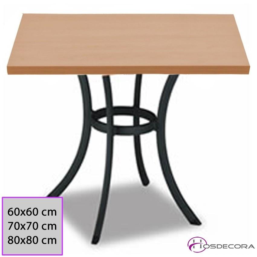 Mesa de bar Tablero 70 cm Melamina - NAVAS