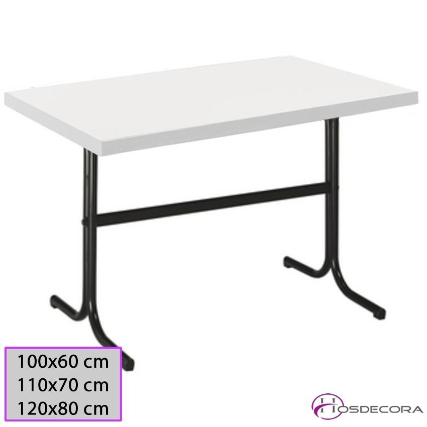 Mesa de bar Tablero 100x60 cm Melamina - MONCOFA