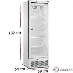 Armario Puerta Cristal Blanco 400 W. A4BBCP-E